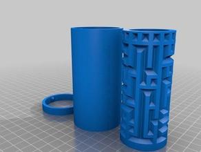 maze cylinder box visible hidden puzzles 3d maze labyrinth maze maze box