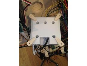 ezbv4 mounting tabs robotics ez-robot ezb ezrobot inmoov inmoov modifications mounting mounting tabs mounting bracket mounting plate