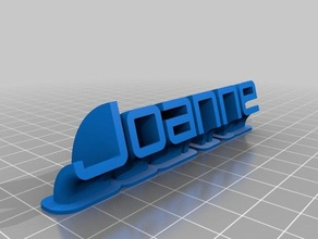 joanne sweeping name plate office customized