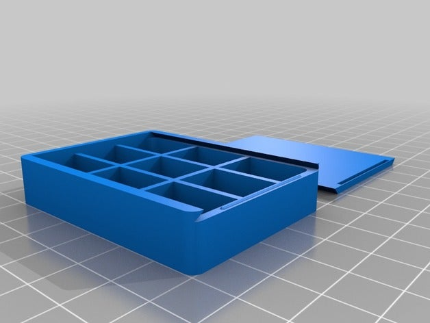 custom box sliding top 3x