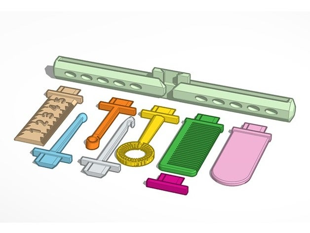 swappable butterfly tools