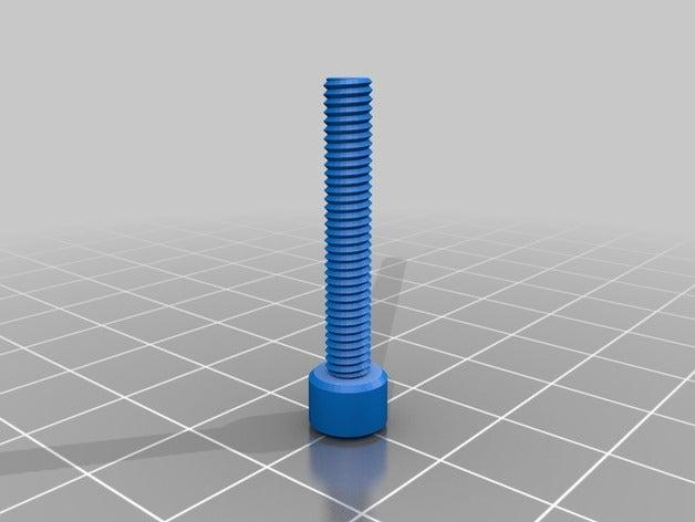 button phillips m4x25mm p