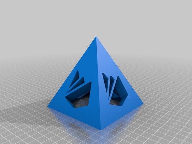 firebase pyramid 3d print