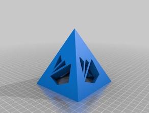 firebase pyramid 3d printing