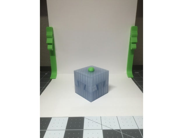 key cube art