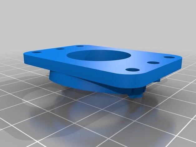 extruder led light mount