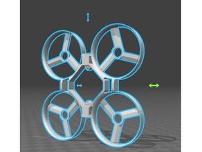 eachine qx70 adapted design r c vehicles eachine qx70 fpv inductrix frame