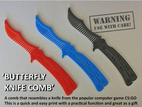 butterfly knife comb gadgets action action figure birthday birthday gift boys brush butterfly butterfly knife christmas present comb combat robots computer cool counter counter-strike cs global offensive cs go cs go butterfly cs go knife easy print fun gadget game gamer gamers gaming gift global ovensive hair novelty present ps3 ps4 steam strike style stylish unique valve video war x-box x-box 360 x-box one xbox xbox 360 xbox one