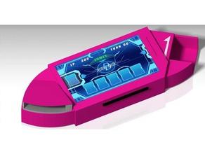 arc-v duel disk toy & game accessories arc-v deck deck box deck holder duel disk yu-gi-oh yugioh