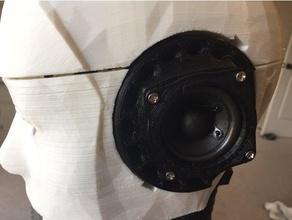 inmoov speaker holder model robots inmoov inmoov ear inmoov speaker inmoov head inmoov skull