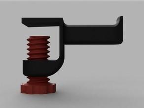 clamp spool holder 1kg spools 3d printer accessories 1kg 1kg spool holder bench clamp desk filament holder filament spool filament spool holder onholder shelf shelving