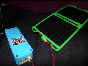 solar usb power supply electronics adapter box case charger diy solar charger drok electronics enclosure enclosure fan housing holder housing off grid outdoors pcb holder project box solar solar panel solar power solar powered usb usb adap usb charger voltage regulator