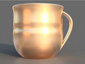 golden cup household amazing coffe cup coffee mug creative cup drink drinking glass easy easy print engineering functional glass gold gold cup golden golden cup gold cup trophy mug project simple simple print simple prints tea pot