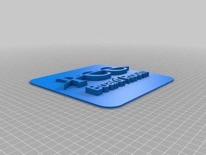 paola chamber commerce board room thin square plate 3d printing