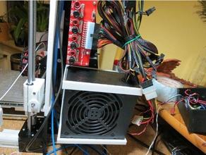anet a8 atx psu mount 3d printer parts anet a8 atx mount atx power supply atx psu psu psu mount