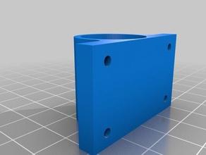 improved quietblock 3d printer parts bearing guide bearing holder better improved improved design linear bearing lm8uu quietblock silentblock