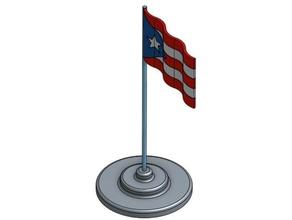 puerto rican waving flag art flag puerto rico waving
