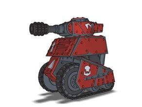 grot tank type b vehicles grot tank tank warhammer warhammer40k warhammer 40000 warhammer 40k