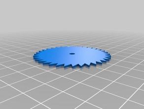 circular saw blade parts blade circular circular saw saw tinkercad toothed