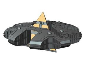 sg - hat'ak motherships 3d printing tests scifi spaceship stargate stargate atlantis stargate sg1 stargate universe stargate sg-1 tv series