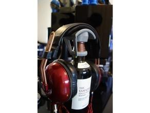 whisky bottle headphone stand audio audio audiophile bottle headphone headphones headphone hanger headphone holder headphone hook headphone stand headset headset holder whiskey whisky