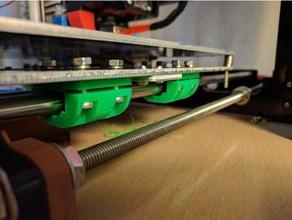 lm8uu bearing tight fit holder 3d printer parts bearing holder lm8uu lm8uu 4 lm8uu 4 screws lm8uu bearing lm8uu holder