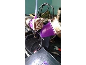 makergear m2 60mm bed fan v4 hot end 3d printer parts 60mm fan mount makergear makergear fan makergear m2