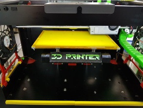 ctc heatbed stiffener 3d printer parts ctc ctc heatbed ctc parts ctc 3d printer ctc printer ctc upgrades