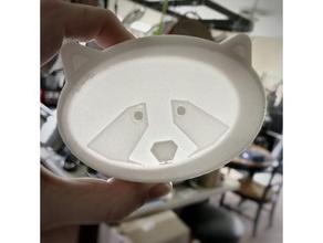 tanuki trinket tray v1 small organization bowl chibi cute dish scratch holder organization raccoon ring holder scratch tanooki tanuki tanuki trinket tray trinket