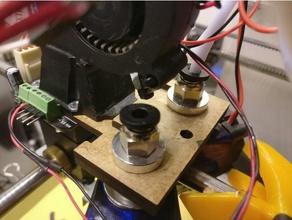 velleman vertex e3d mod - laser cut parts 3d printer parts e3d e3d hotend e3d v6 mod velleman vertex vertex 8400 vertex k8400