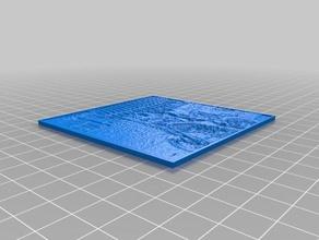 my customized lithophane rafa 2d art customized