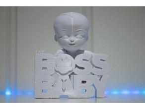boss baby models baby boss dreamworks model stl  boss baby