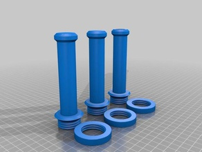 ctc replicator dual 28mm spool holder 3d printing ctc ctc spool holder ctc 3d printer ctc printer ctc replicator dual ctc upgrades filament spool holder
