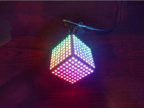 ultim8x8 modular no-solder rgb led half cube electronics apa102 cube electronics led light light lighting rgb rgb-led rgb led rgb led strip