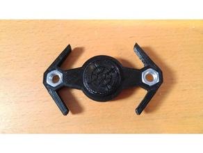 caza tie avanzado spinner juguetes mecánicos fidget fidget spinner spinner starwars de star wars caza tie