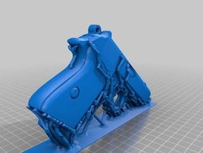 walther ppk supports remix props gun meshmixer model ppk support toy walther walther ppk