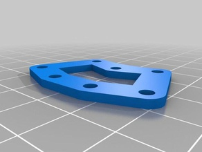 multi-colour jig bracket joint 3d printer accessories 3d printer bracket dual extrusion minimal modular multi color multi colour multi extrusion multi-color multi-colour single nozzle