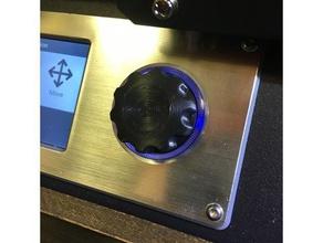 mp select mini v2 - replacement knob 3d printer parts knob knobs monoprice monoprice mini monoprice mod monoprice select mini mp mini select mp select mini potentiometer knob select mini