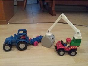 duplo compatible crane toys & games brick crane cranes duplo duplo car duplo compatible lego lego compatible lego duplo
