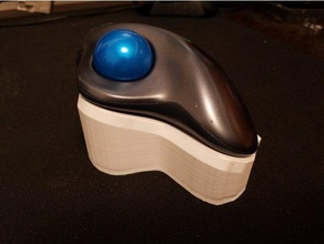 logitech m570 trackball tented mount computer m570