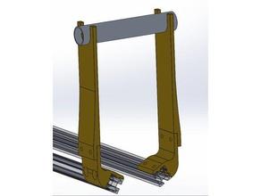 mendelmax 15 spool support 3d printer accessories bobina bobina filamento filament spool filament spool holder filament support mendelmax mendelmax 15 spool holder supporto filamento