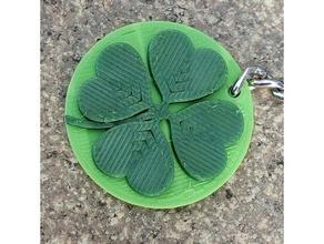 four leaf clover - keychain keychains 4 leaf clover clover cloverleaf four leaf clover keychain
