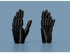 super simple robotic hand 3d printing 3d print 90srobot bionic hand prosthetic prosthetics robotic robotic hand robotics simple super the90srobot