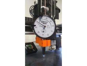 dial gauge holder raise3d n2 & n2+ 3d printer accessories bed leveling dial gauge dial indicator dial indicator mount leveling raise3d raise3d n2 raise3d n2 plus