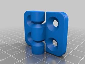 snap hinge 3d printer parts bibo break away door hinge floating hinge hinge snap snap hinge