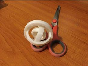 my gyro rings mechanical toys easy easy print easy print fidget toy gyro gyroscope solidworks 2016