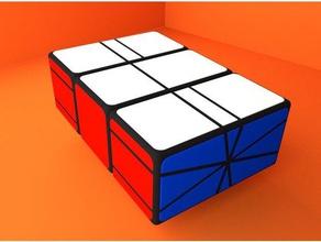 square-1x2x3 puzzles 123 1x2x3 3d puzzle cuboid puzzle rubik's rubik's cube square square-1 square1 square 1 square one twisty twisty puzzle