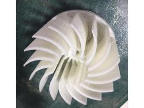 turbine centrif parts centrifuge fan turbine