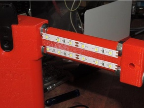 led support ciclop 3d scanner 3d printing bq ciclop ciclop ciclop 3d scanner led holder led strip led support