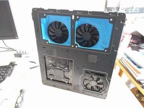 custom ducting node 202 case evga acx 3 graphics computer computer cooling cooling duct evga fractal design mini-itx node202 node 202